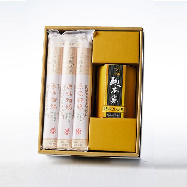 特級XO醬經典麵線白金禮盒 / 特殊グレードXO醤+オリジナル味麺プラチナギフト / Luxury Set with Premium XO Sauce & Classic Thin Noodles 1