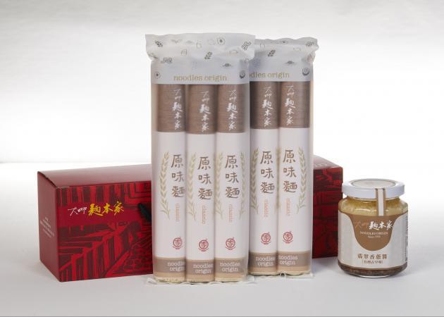 懷舊禮盒 (香蔥醬+原味麵條) / ねぎ醤+オリジナル味ノスタルジアギフト / Nostalgic Set with  Jadeite Red Onion Sauce & Classic Noodles 1