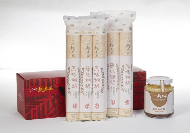 懷舊禮盒 (香蔥醬+原味麵線) / ねぎ醤+オリジナル味ノスタルジアギフト / Nostalgic Set with  Jadeite Red Onion Sauce & Classic Thin Noodles 1