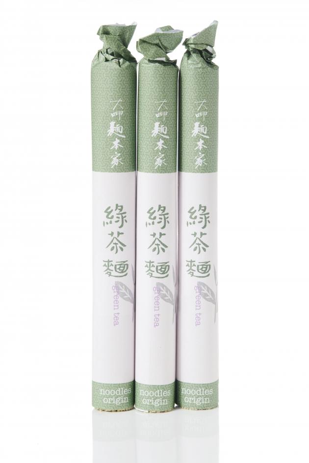 綠茶麵條 / りょく茶 / Green Tea Noodles 1