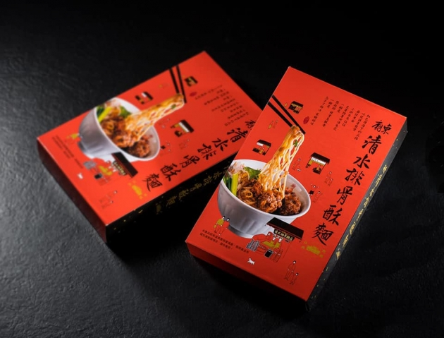 廟東清水排骨酥麵/2人份/盒 2