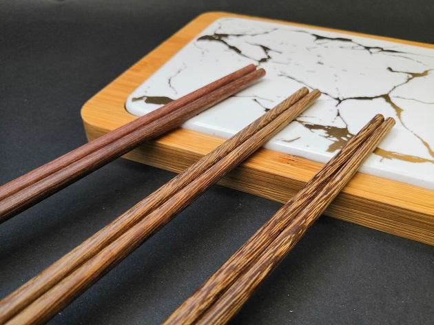 吃麵筷/雞翅木/28cm 5